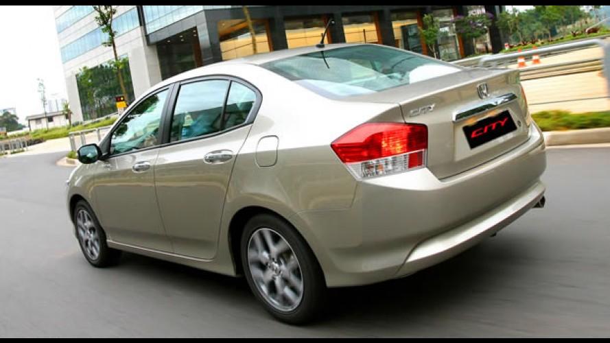 Honda City 2011 chega sem novidades – Preço inicial é de R$ 57.420