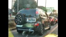 Antes das vendas: Citroën AirCross já roda livremente por SP