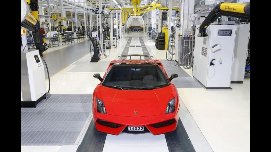 Lamborghini Gallardo sai de linha após dez anos e 14.022 unidades produzidas