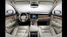 Fotos: Volvo mostra interior luxuoso do novo S90 em detalhes