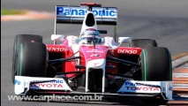 Trulli e Glock fazem dobradinha da Toyota no GP de Bahrein - Barrichello em 6° e Massa em 8°