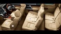 Toyota revela oficialmente primeiros detalhes do SUV Land Cruiser 200 reestilizado