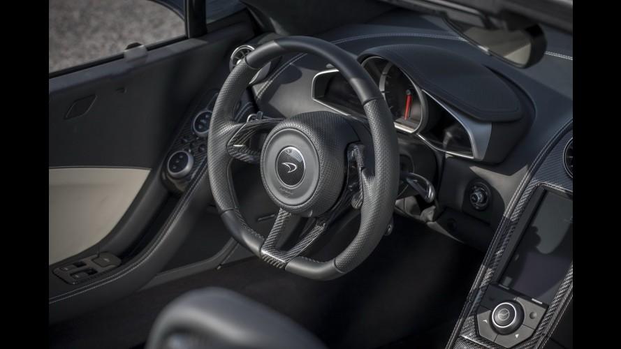 McLaren divulga nova leva de imagens do conversível MP4-12C Spider