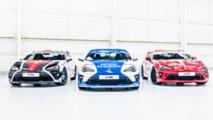 Toyota 86 Le Mans Heritage liveries