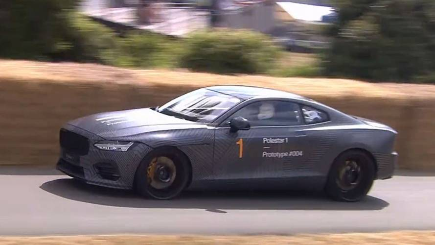 Polestar 1 is a silent symphony of hybrid power at Goodwood