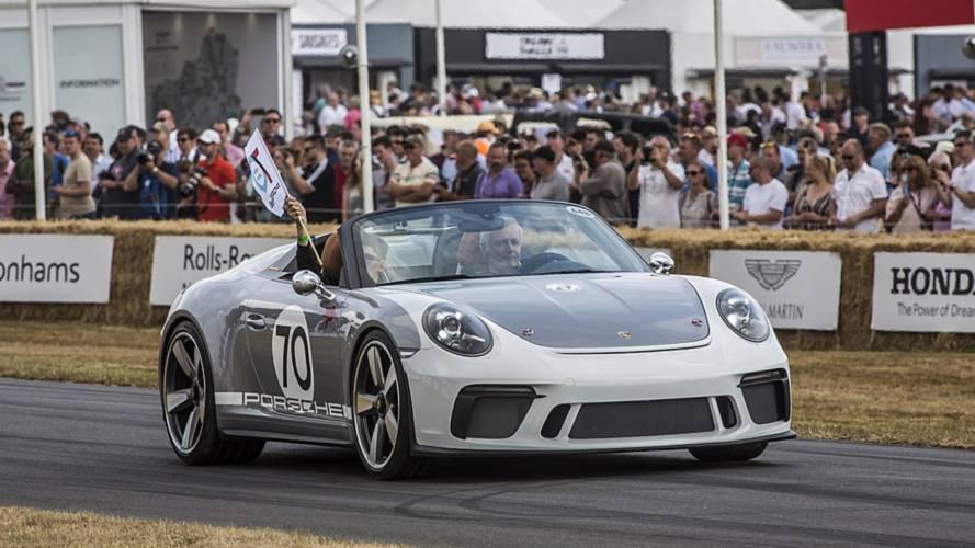 Panamera GTS, 718 Cayman T ve 911 Speedster şasi numaraları kaydedildi