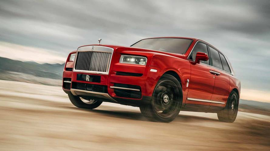 2018 Rolls-Royce Cullinan officially revealed