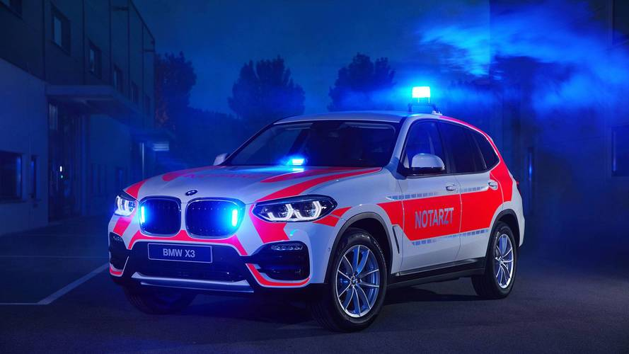BMW Hits RETTmobil 2018 With Six Slick Emergency Vehicles