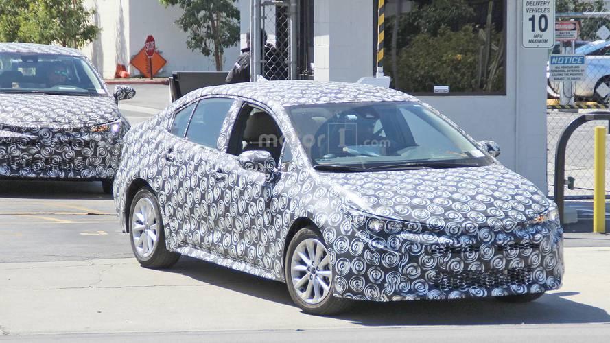 Toyota Corolla 2020 - Flagra nos EUA