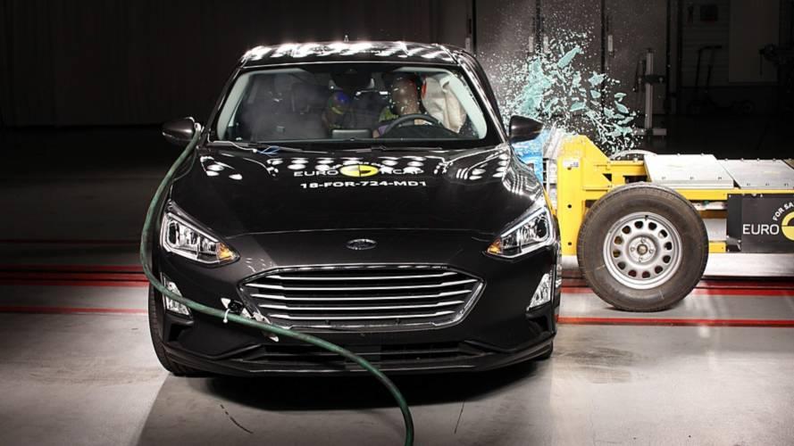 Yeni EuroNcap testlerine ilk giren modeller Focus ve XC40 oldu