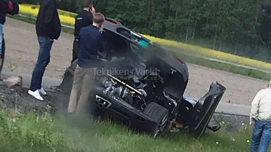 Encore un crash pour la Koenigsegg Agera RS Gryphon