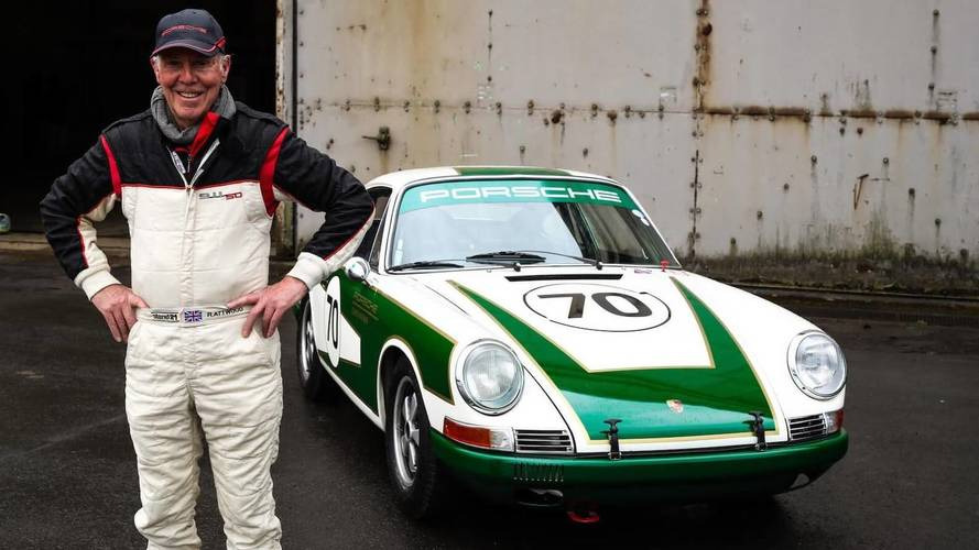 Porsche Builds Early 911 For Le Mans Legend Richard Attwood
