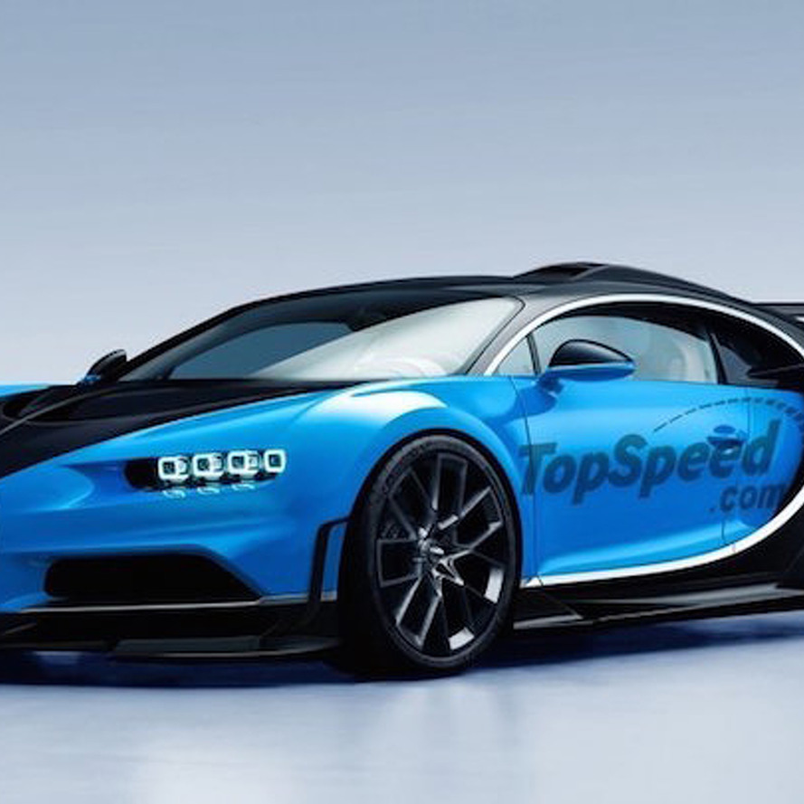 Bugatti Sport: This Is What A Bugatti Chiron Super Sport Might Look Like