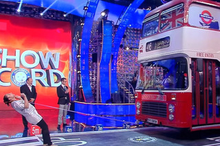 Watch a Woman Pull a Double-Decker Bus With Her Hair