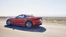 Michelle Rodriguez drives the Jaguar F-Type SVR
