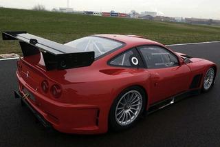 The 2004 Ferrari 575 GTC Aimed Straight For the Track