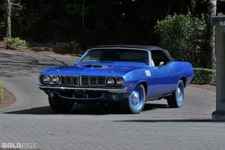 World's Only Original Hemi Cuda Four-Speed Convertible Headed to Auction
