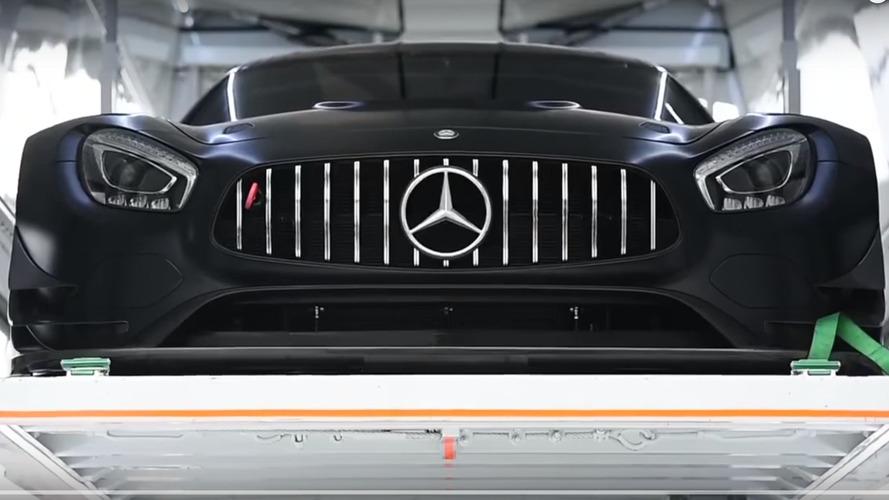 Mercedes-AMG GT3 looks devilish in shakedown video