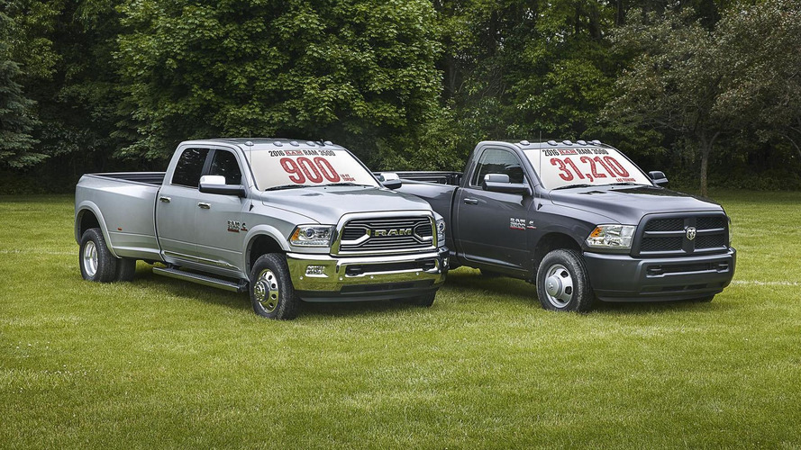 2016 Ram Heavy Duty pickup lineup unveiled