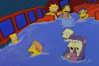 The Simpsons' Best Car Crashes Ever [w/Video]