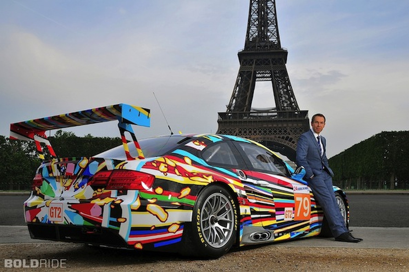 Jeff Koons BMW Art Car Making First North American Appearance in Miami