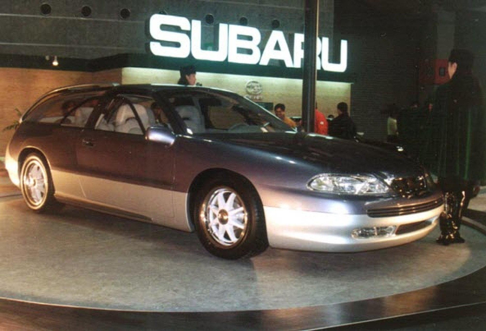 sports car face plant subaru svx 1991 1997. Black Bedroom Furniture Sets. Home Design Ideas
