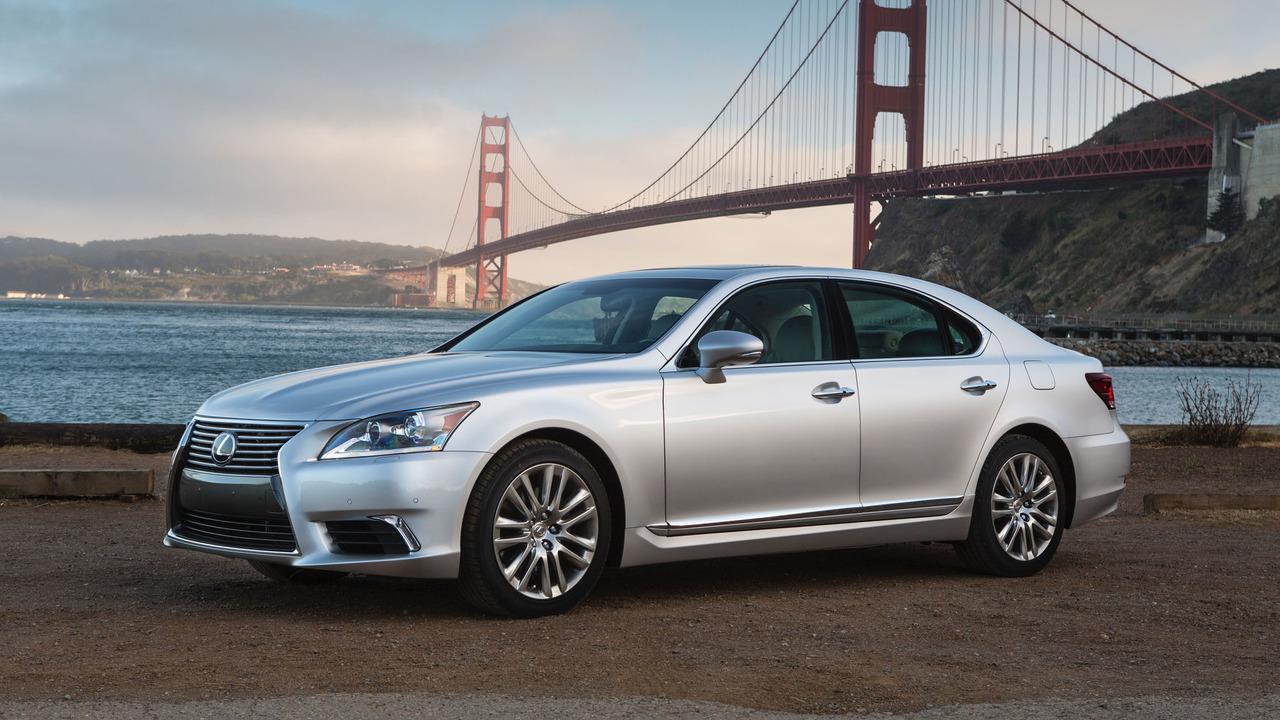 2. 2017 Lexus LS: $8,000 Rebate