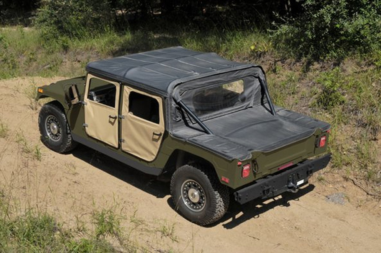 Build Your Very Own Humvee, Be More of a Man