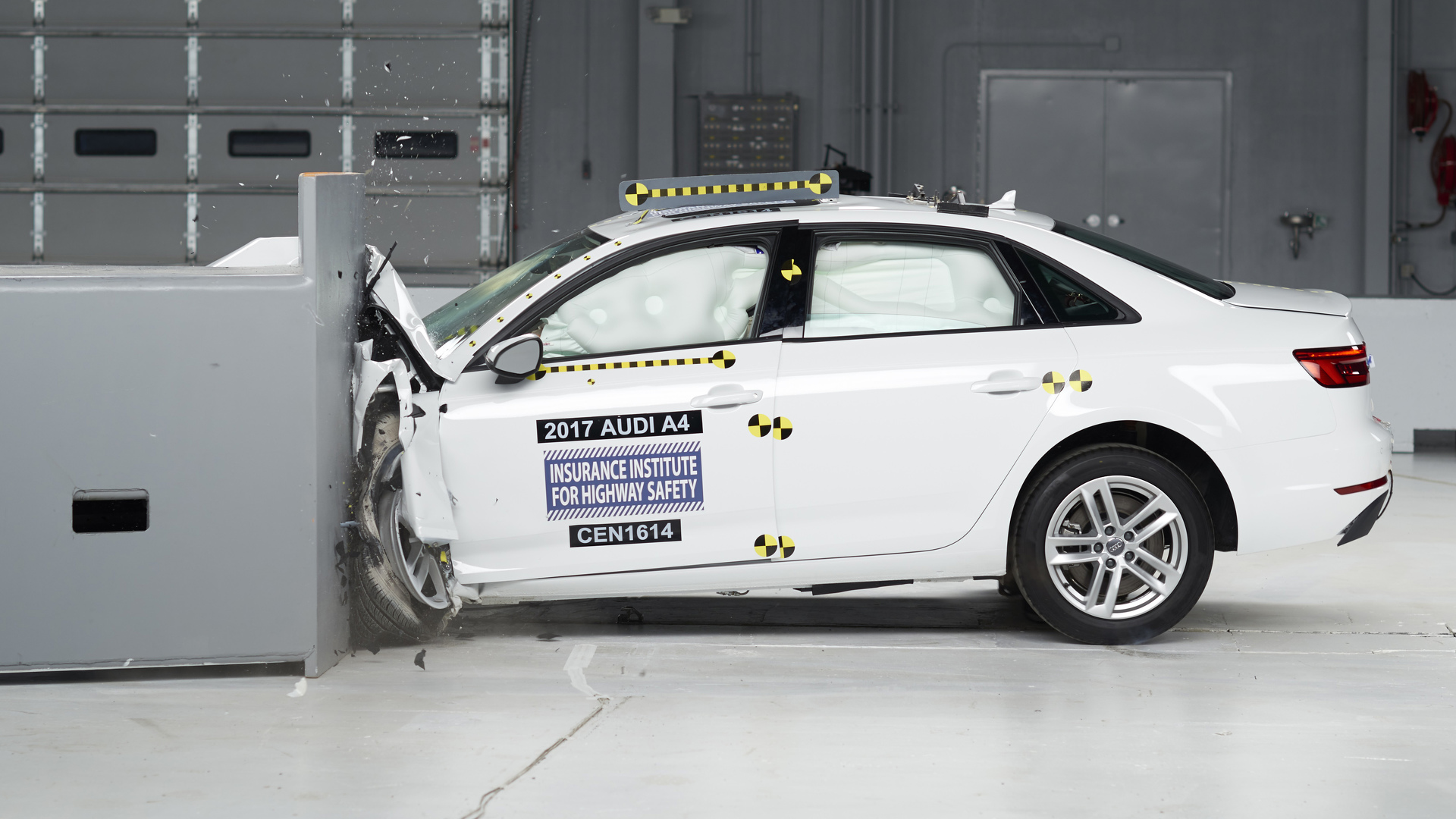 2017 Audi A4 scores IIHS Top Safety Pick+ rating