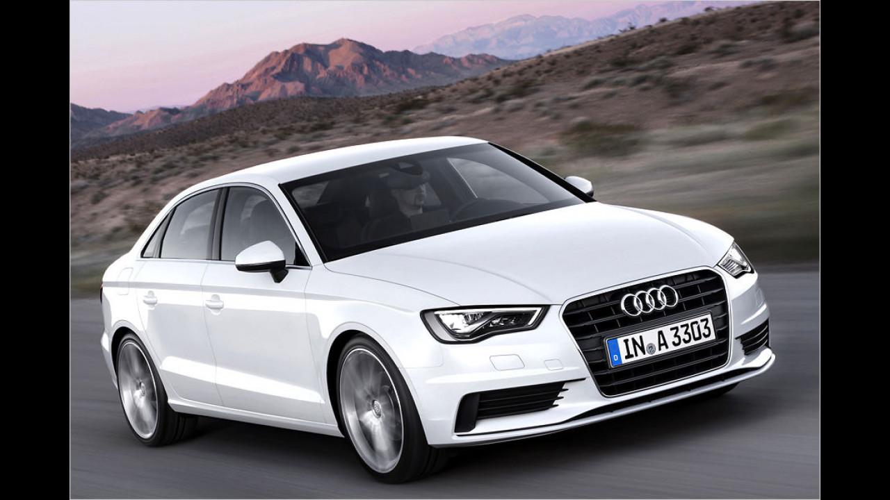 Kompaktklasse, Platz 2: Audi A3 (15.503 Stück)