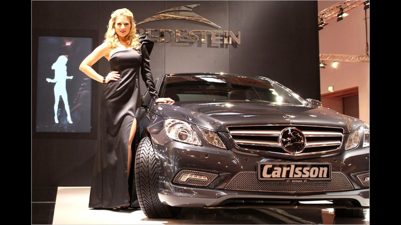 Der Blick des Carlsson-Mercedes scheint zu sagen: Das ist mein Mädchen!