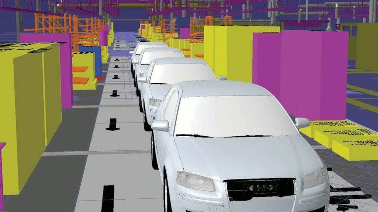 Audi Production Planning in the Virtual World
