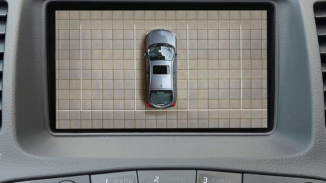 Nissan surround view