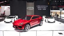 Lamborghini Urus SUV concept live in Beijing