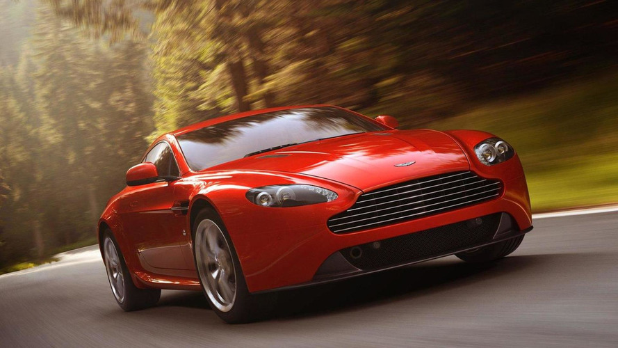 Aston Martin V8 Vantage facelift promo [video]
