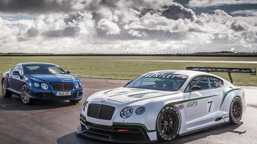 Bentley Continental GT3 leaked