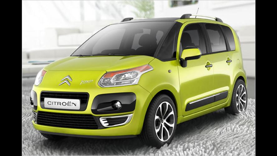 Raumkunst: Citroën stellt den neuen C3 Picasso vor