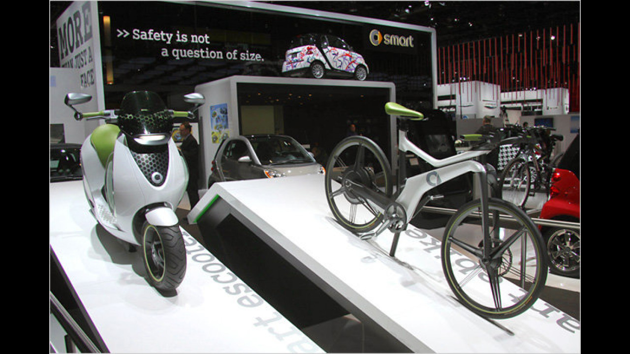 Zweiräder von Smart