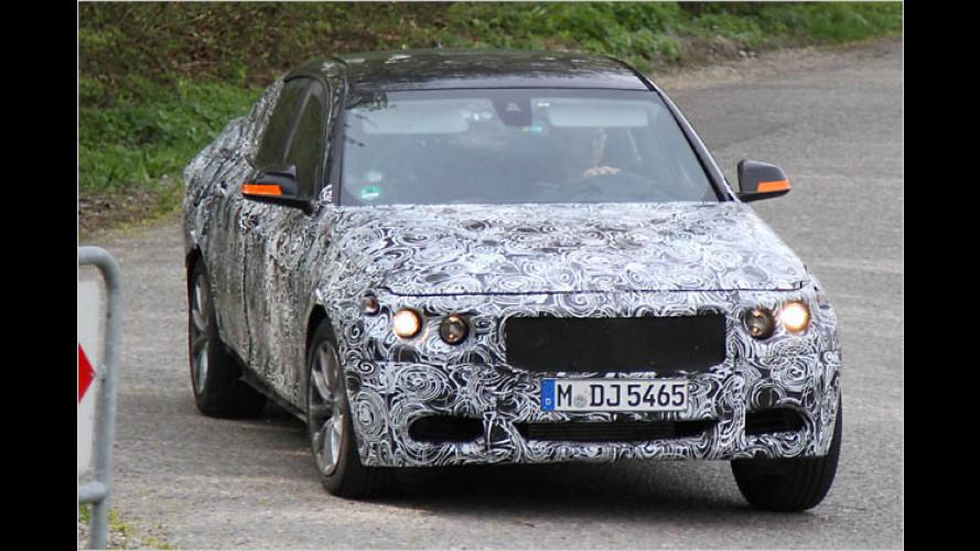 Wuchtiges Heck: BMW 3er als GT erwischt