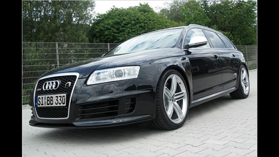 Schneller als die Polizei erlaubt: Audi RS6 Avant von B&B