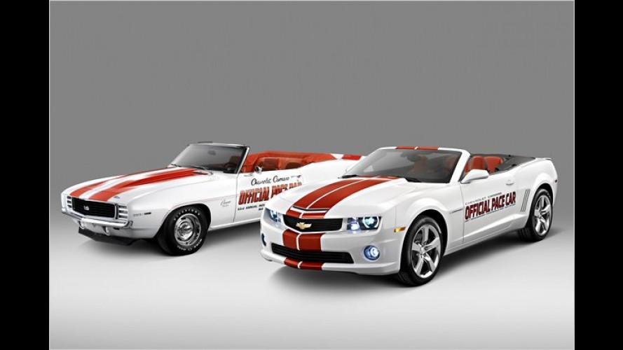 Pace Cars: Chevrolet sorgt beim Indy 500 für die Sicherheit
