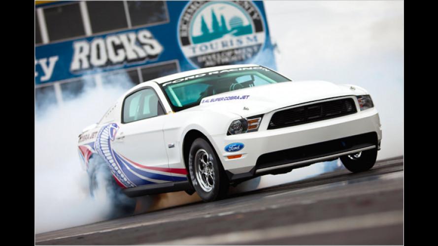 Feuriger Dragstrip-Racer: Mustang Cobra Jet