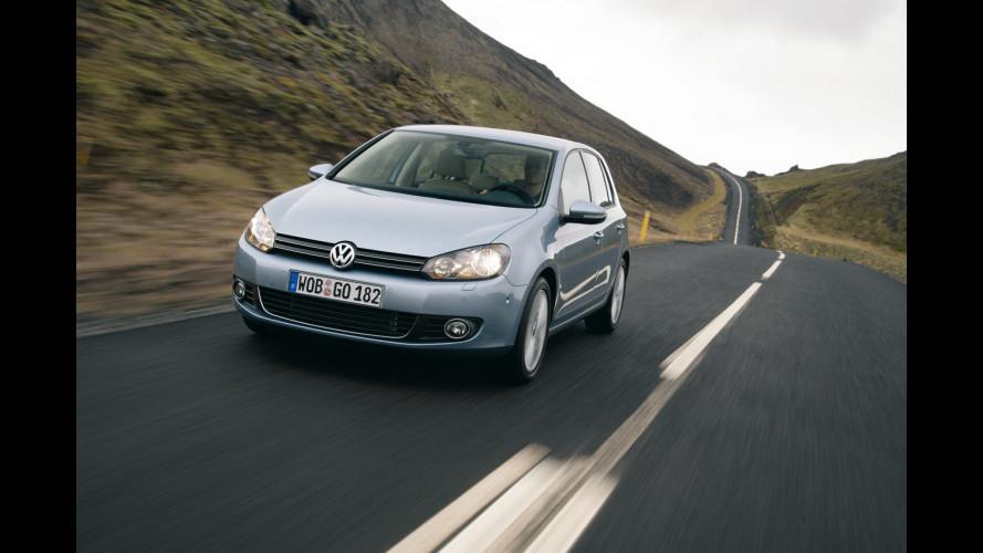 VW Golf sarà la più venduta d'Europa anche nel 2010