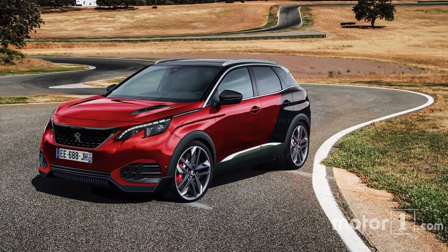 Hotter Peugeot 3008 Could Look Like This