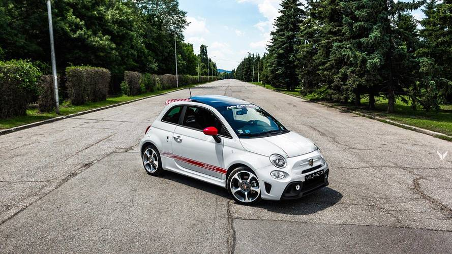 Fiat 500 Abarth 595 By Vilner