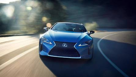 New Biturbo V8 Reportedly Gives Lexus LC F 621 HP
