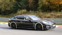 2016 Porsche Panamera mule spy photo