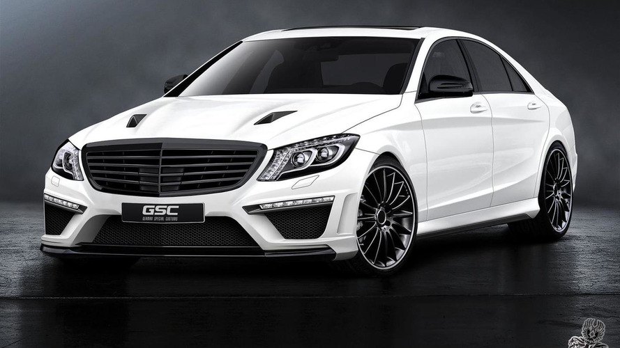 German Special Customs previews 2014 Mercedes-Benz S-Class kit