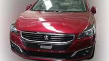 2015 Peugeot 508 first photo pops up online