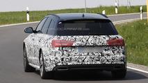 2015 Audi A6 Avant facelift spy photo